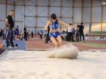 National d'athlétisme à Reims