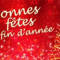 DE BONNES FETES DE FIN D'ANNEE