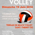 Beach Volley à Muizon