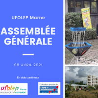 Assemblée Générale Ufolep 51 – 08 avril 2021